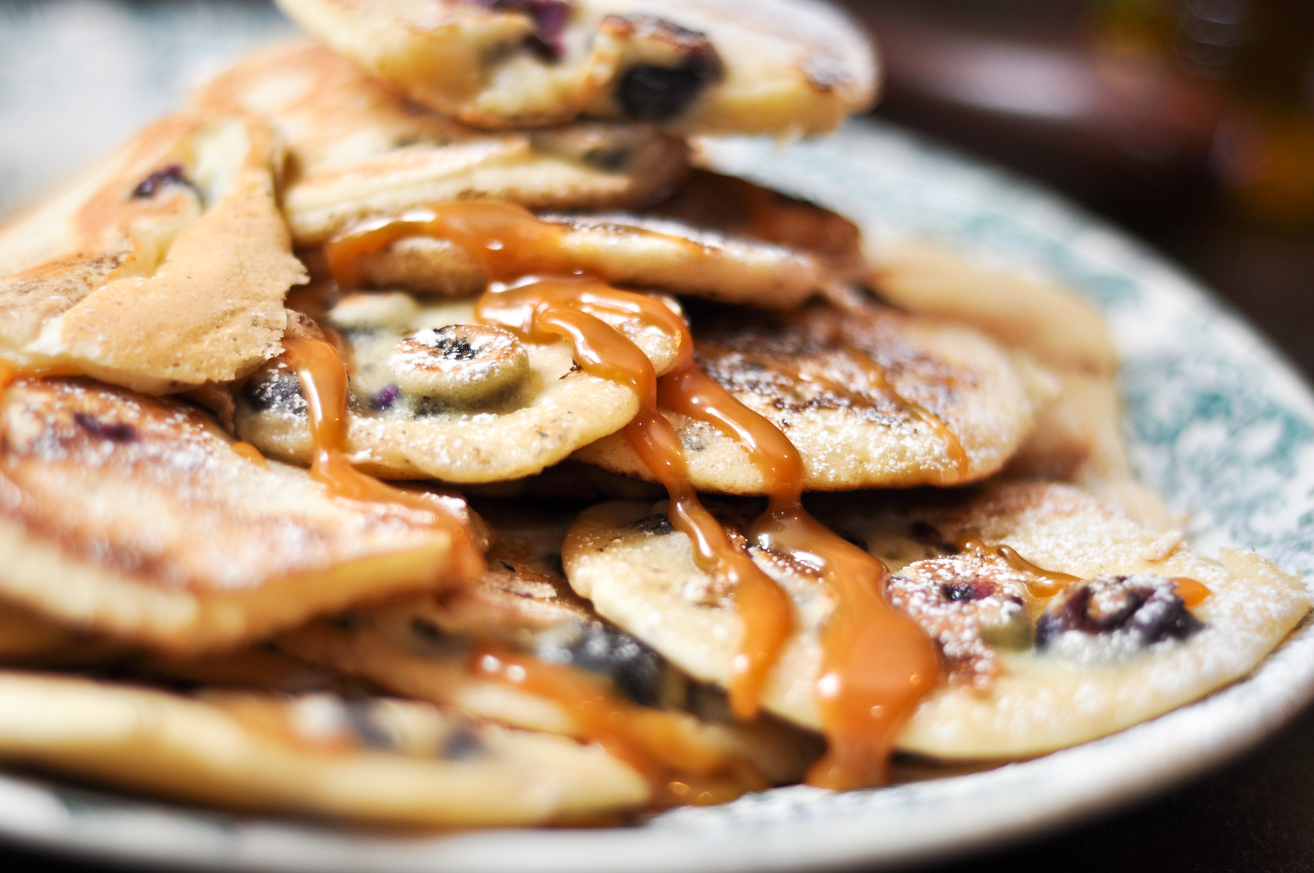Salted Caramel and Blueberry Pancakes – It's Not F***ing Rocket ...