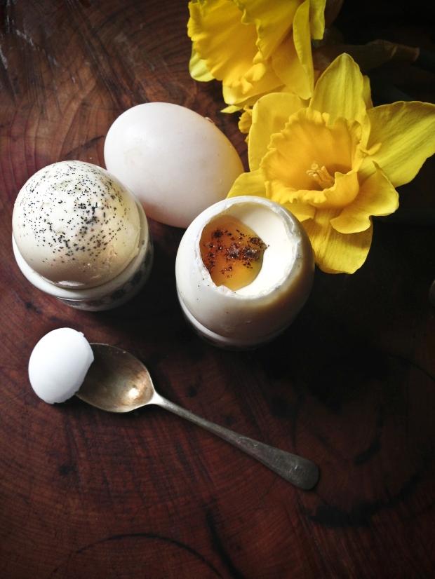 Easter panna cotta salted caramel egg-5
