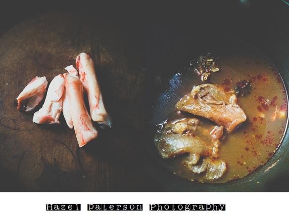 Beef tendons