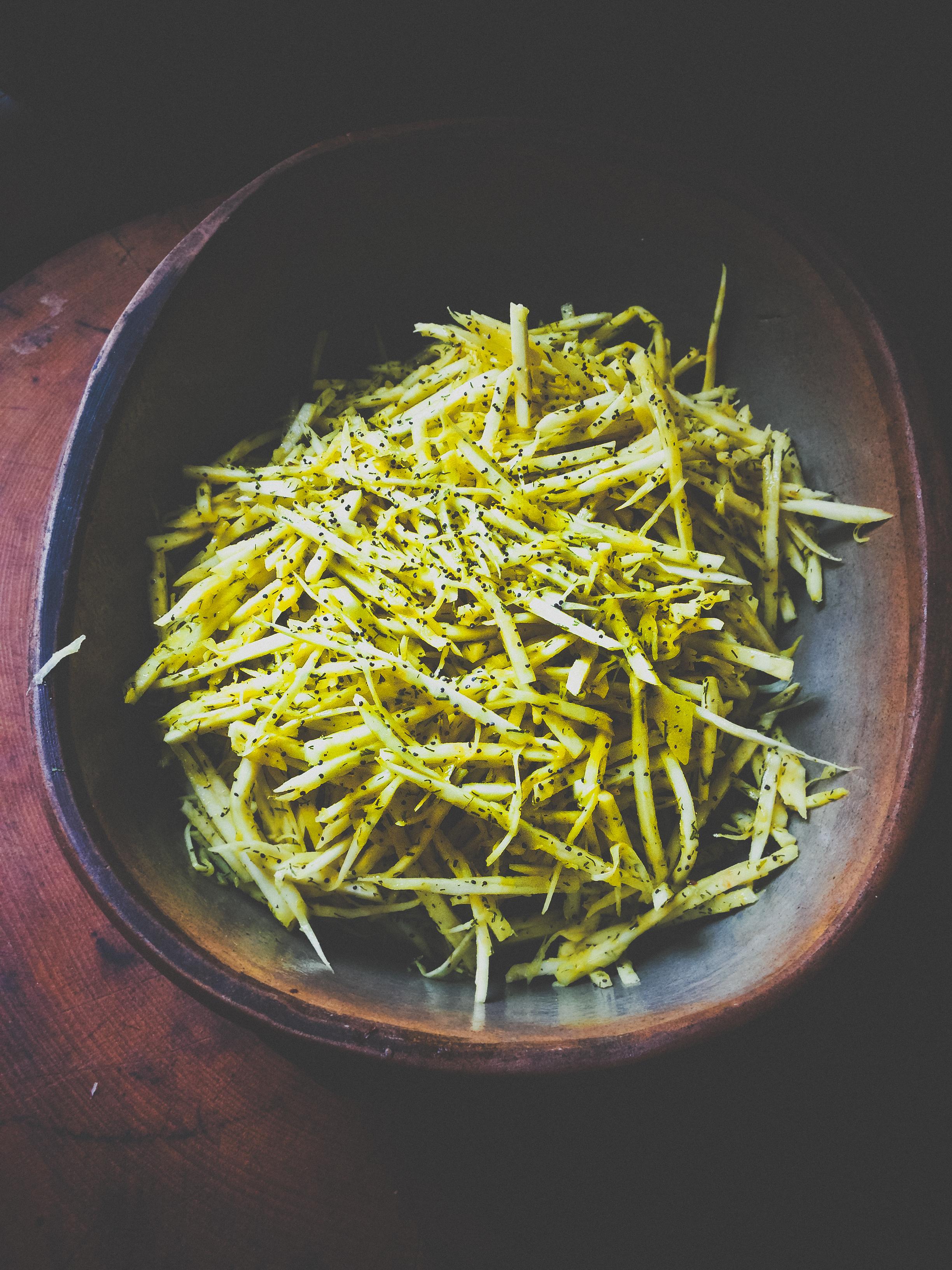 fiery celeriac salad