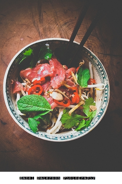 vietnamese beef tendon pho