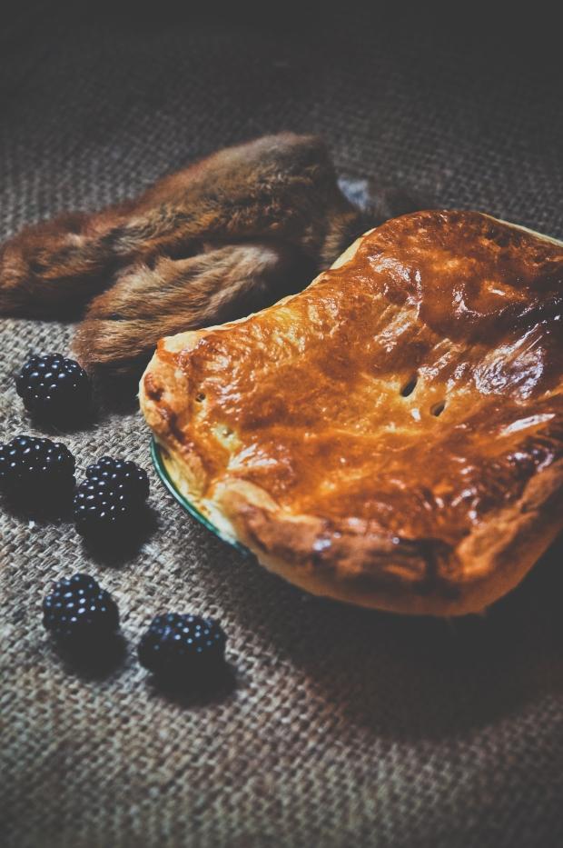 Autumn's harvest in a pie