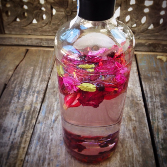 World Gin Day: Hibiscus and Rose Gin recipe