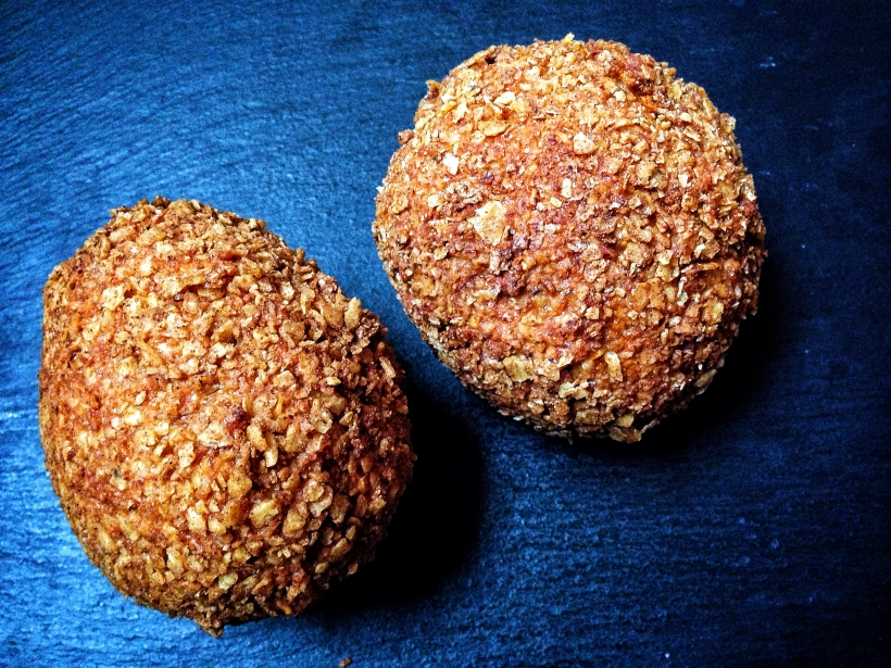 Cheese Doritos make the perfect crunchy coating for these sweet chilli scotch eggs